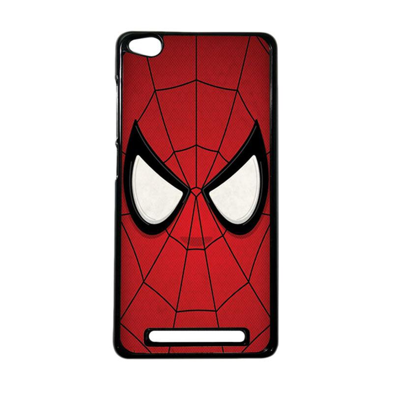 HEAVENCASE Superhero Spiderman 07 Hardcase Casing for Xiaomi Redmi 3 - Hitam