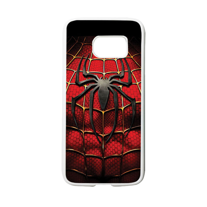 HEAVENCASE Superhero Spiderman 08 Casing for Samsung Galaxy S7 - Putih