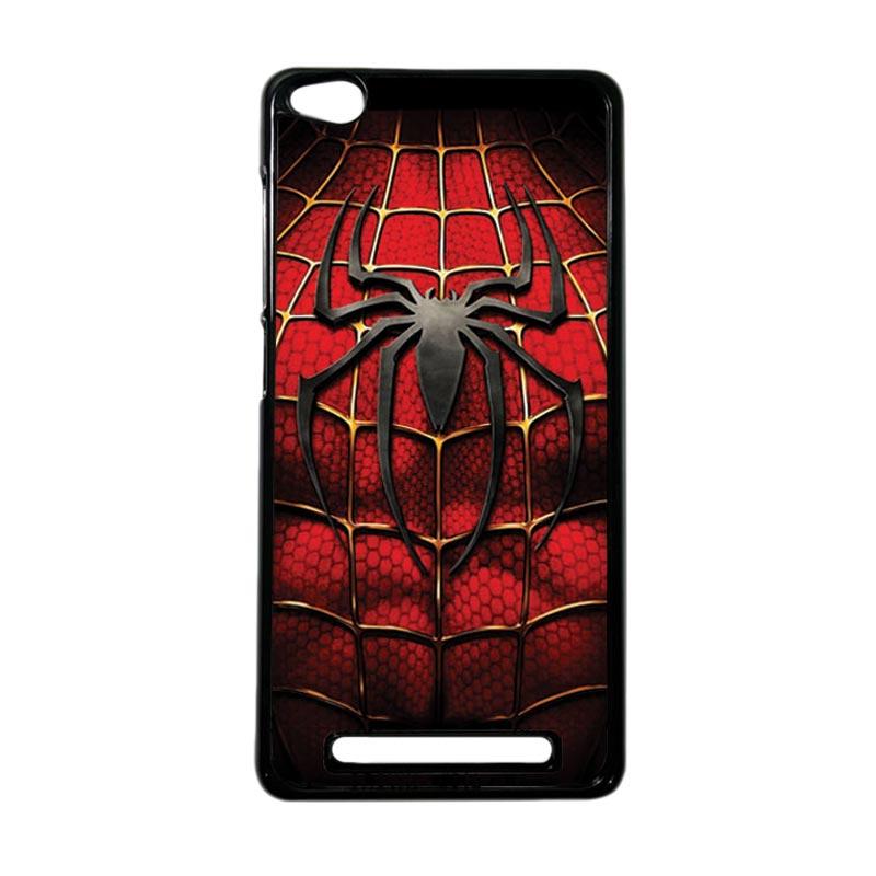 HEAVENCASE Superhero Spiderman 08 Hardcase Casing for Xiaomi Redmi 3 - Hitam