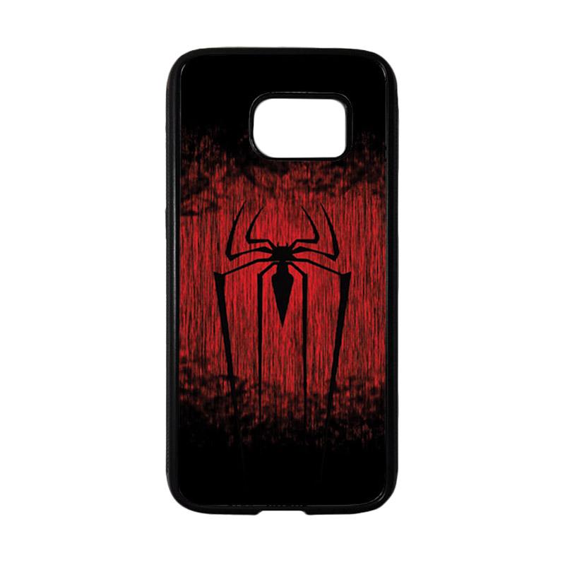 HEAVENCASE Superhero Spiderman 09 Casing for Samsung Galaxy S7 - Hitam