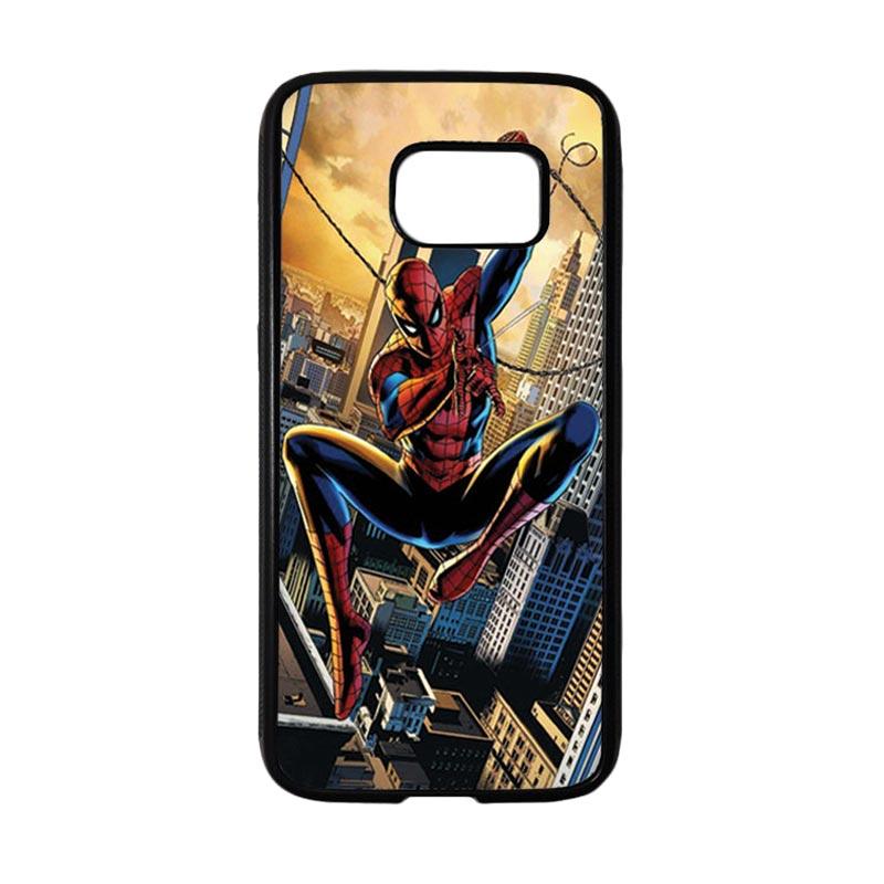 HEAVENCASE Superhero Spiderman 10 Casing for Samsung Galaxy S7 - Hitam