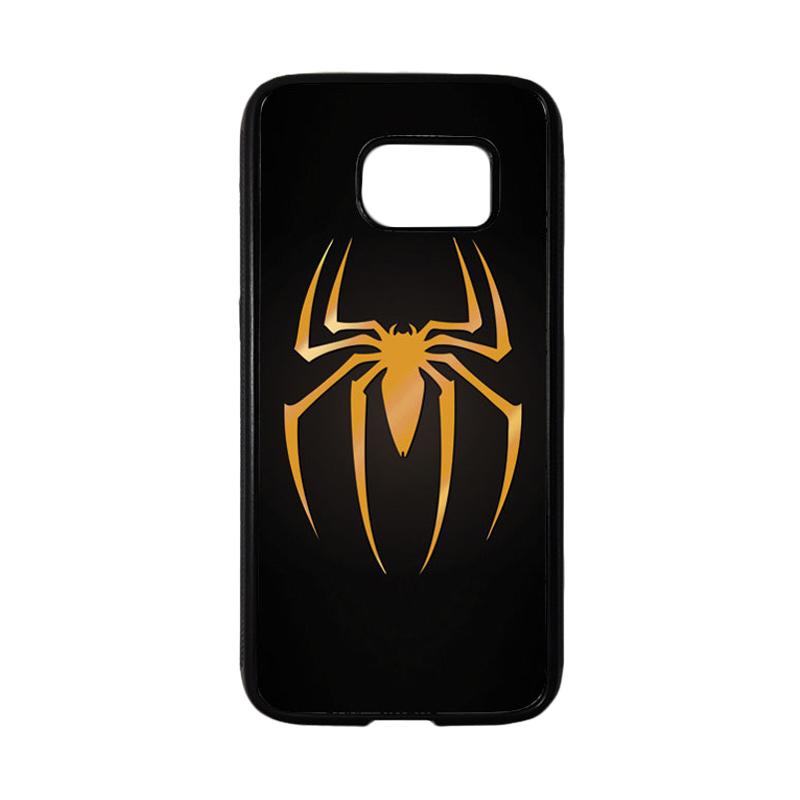 HEAVENCASE Superhero Spiderman 11 Casing for Samsung Galaxy S7 - Hitam