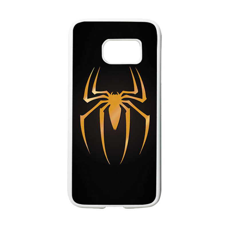 HEAVENCASE Superhero Spiderman 11 Casing for Samsung Galaxy S7 - Putih