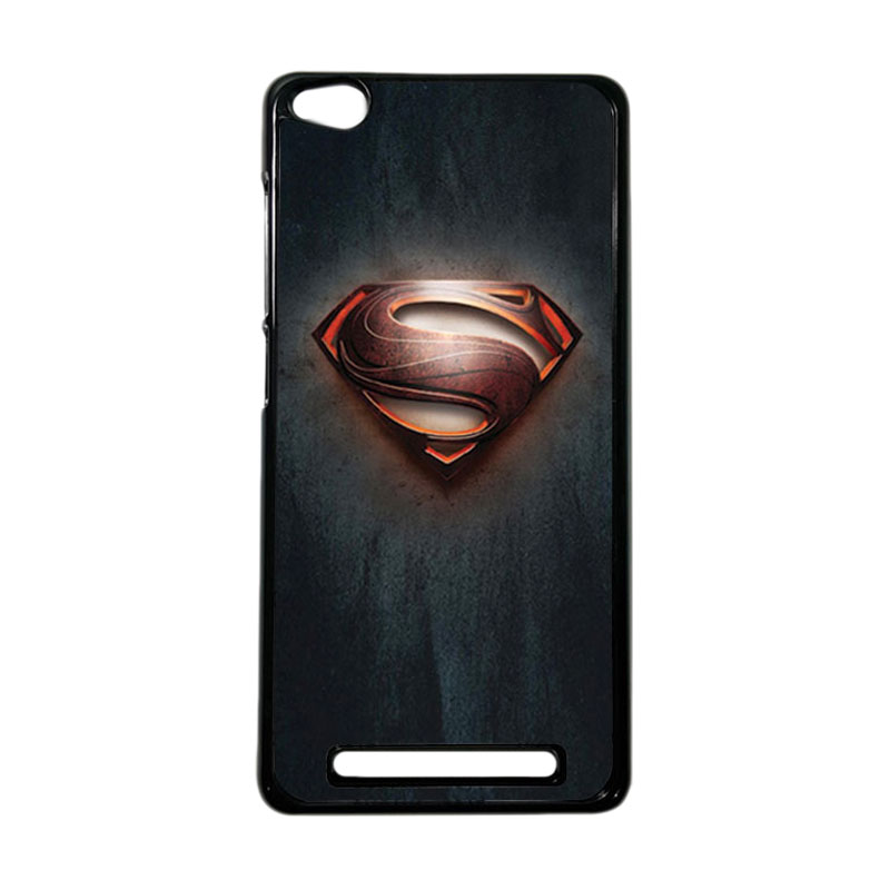Heavencase Superhero Superman 04 Hardcase Casing for Xiaomi Redmi 3 - Hitam
