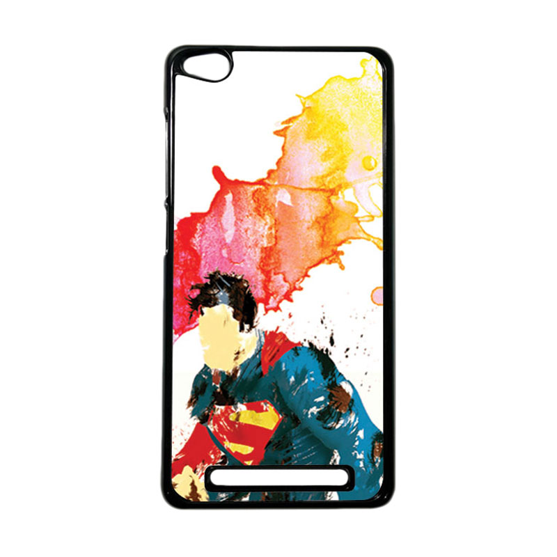 Heavencase Superhero Superman 07 Hardcase Casing for Xiaomi Redmi 3 - Hitam