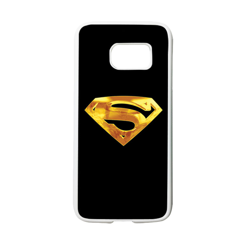 HEAVENCASE Superhero Superman 09 Casing for Samsung Galaxy S7 - Putih