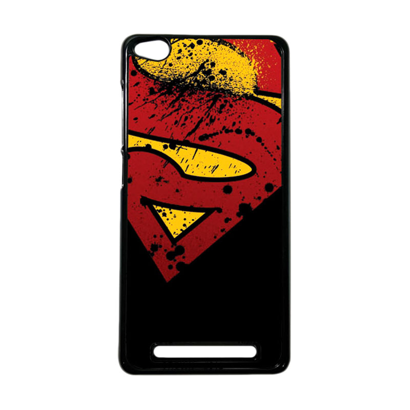 Heavencase Superhero Superman 11 Hardcase Casing for Xiaomi Redmi 3 - Hitam