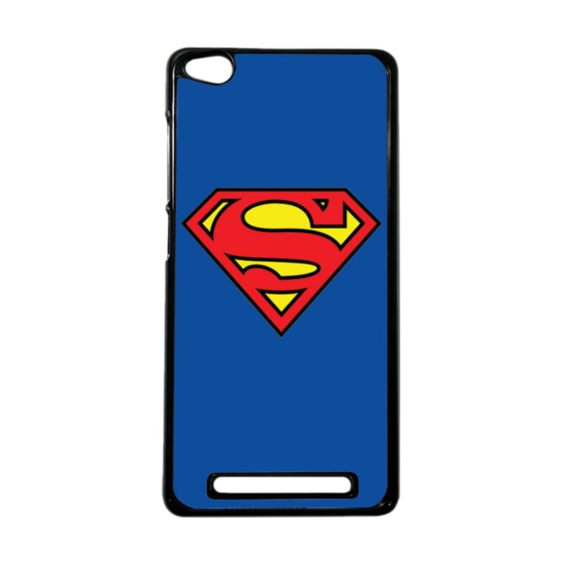Heavencase Superhero Superman 13 Hardcase Casing for Xiaomi Redmi 3 - Hitam