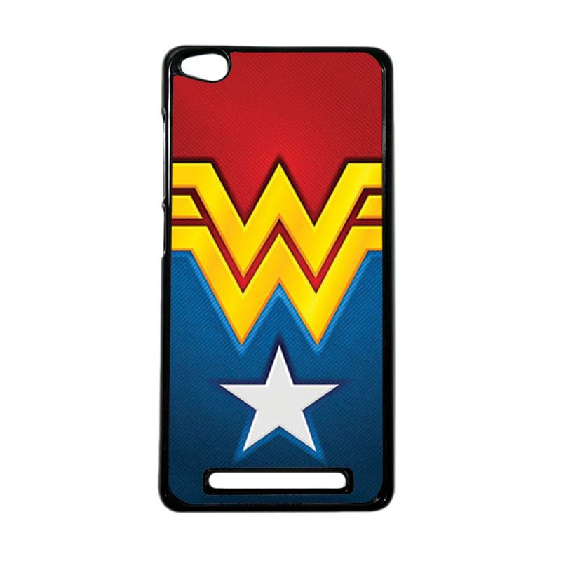 Heavencase Superhero Wonder Woman 02 Hardcase Casing for Xiaomi Redmi 3 - Hitam