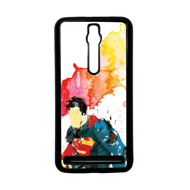 Heavencase Superman 07 Hardcase Casing for Asus Zenfone 2 ZE551ML or ZE550ML - Hitam