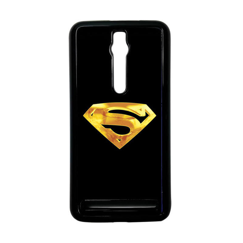 Heavencase Superman 09 Hardcase Casing for Asus Zenfone 2 ZE551ML or ZE550ML - Hitam