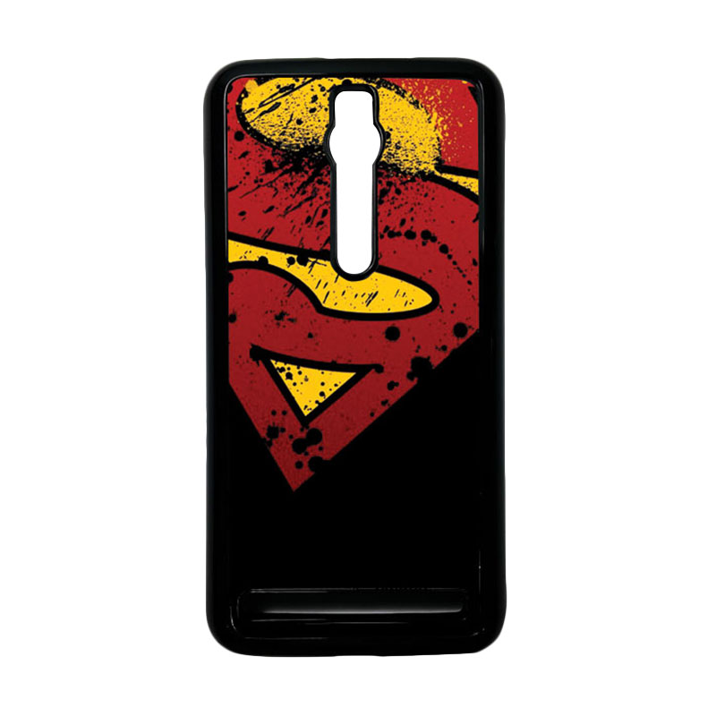 Heavencase Superman 11 Hardcase Casing for Asus Zenfone 2 ZE551ML or ZE550ML - Hitam