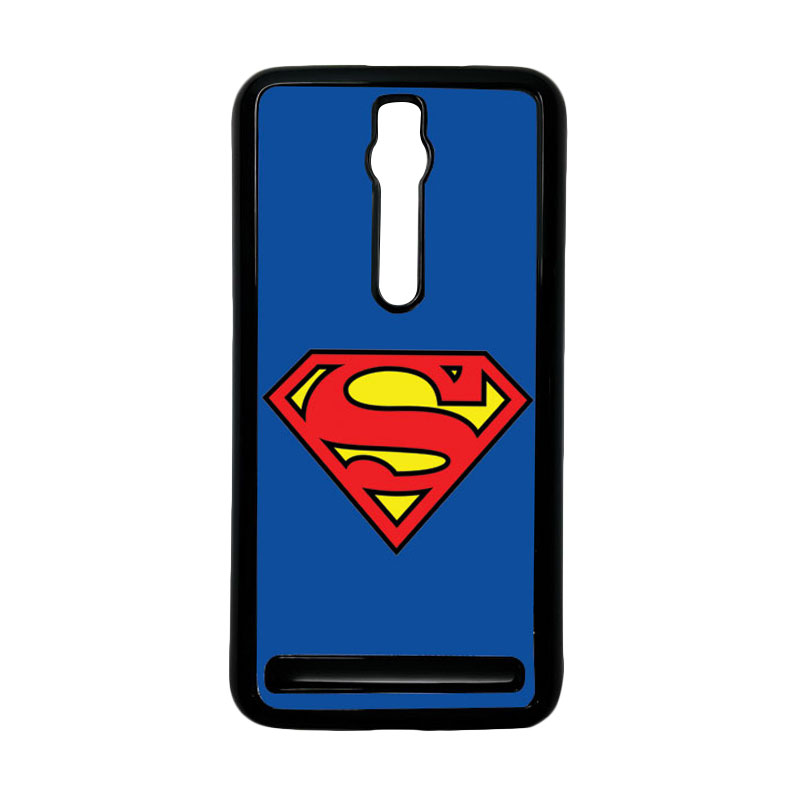 Heavencase Superman 13 Hardcase Casing for Asus Zenfone 2 ZE551ML or ZE550ML - Hitam