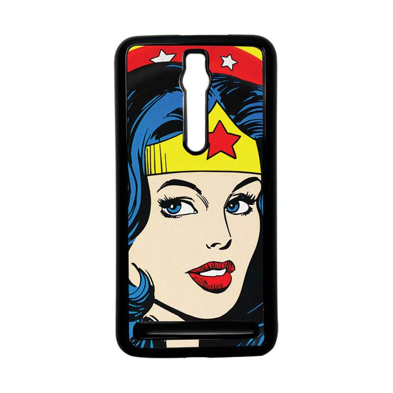Heavencase Wonder Woman 01 Hardcase Casing for Asus Zenfone 2 ZE551ML or ZE550ML - Hitam