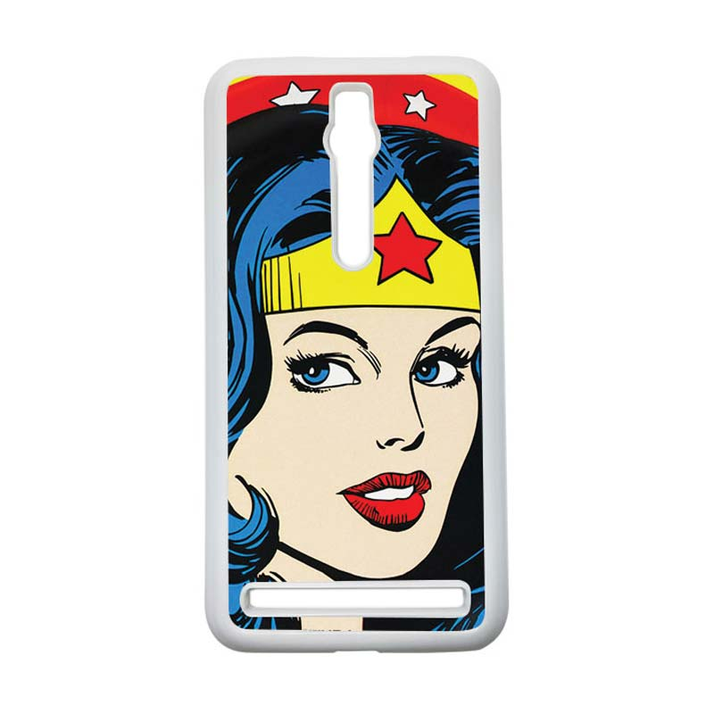 Heavencase Wonder Woman 01 Hardcase Casing for Asus Zenfone 2 ZE551ML or ZE550ML - Putih
