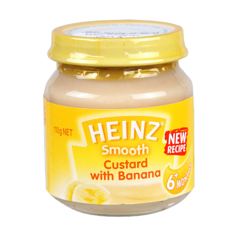 harga Heinz Banana Custard Makanan Bayi [110 g] Blibli.com
