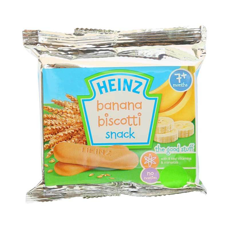 Heinz Biscotti Banana [60gr/7m+]