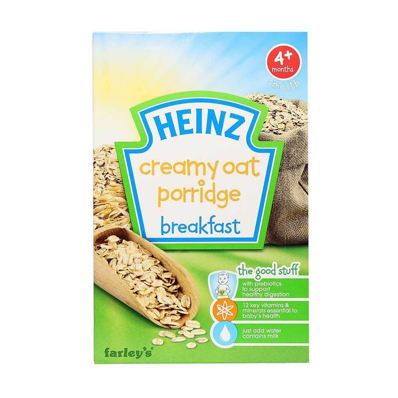 Heinz Creamy Oat Porridge Breakfast Cereal [125gr]