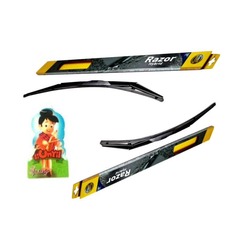 harga PROMO BUY 1 Hella Razor Hybrid Wiper Silicon Set for Honda Jazz [24 -14] GET 1 FREE Spring paper Parfume Blibli.com