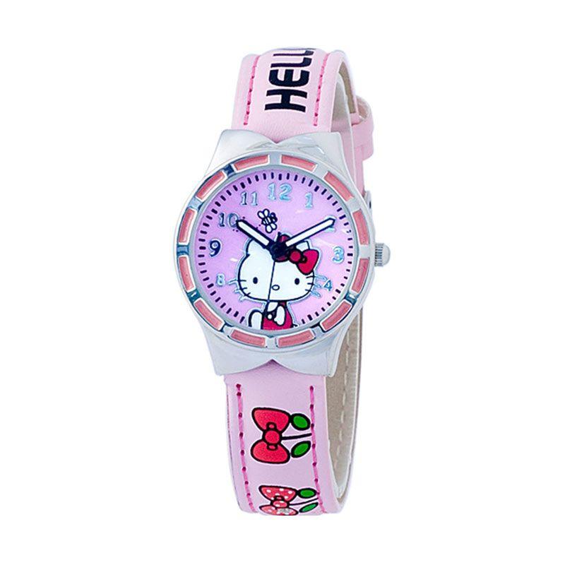 Hello kitty HKFR554-05A Pink Jam Tangan Anak