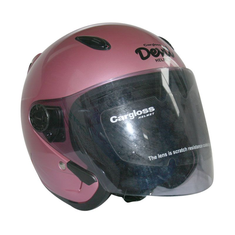 Cargloss Devil OS HM Powder Pink Helm Half Face