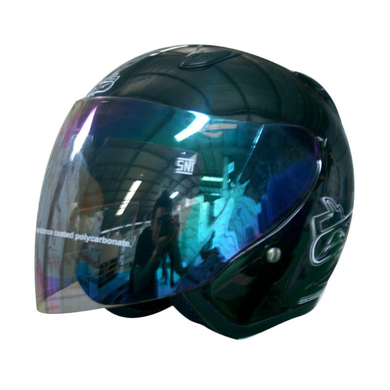 Cargloss YCNO AXRB Deep Black Helm Open Face