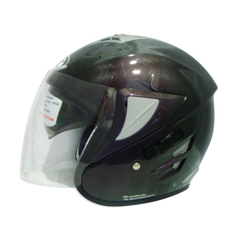 FOZ Voltus Solid 3Tone L Helm Half Face