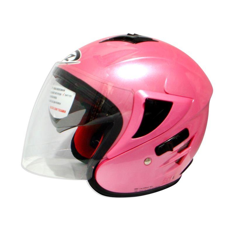 FOZ Voltus Solid Pink L Helm Half Face