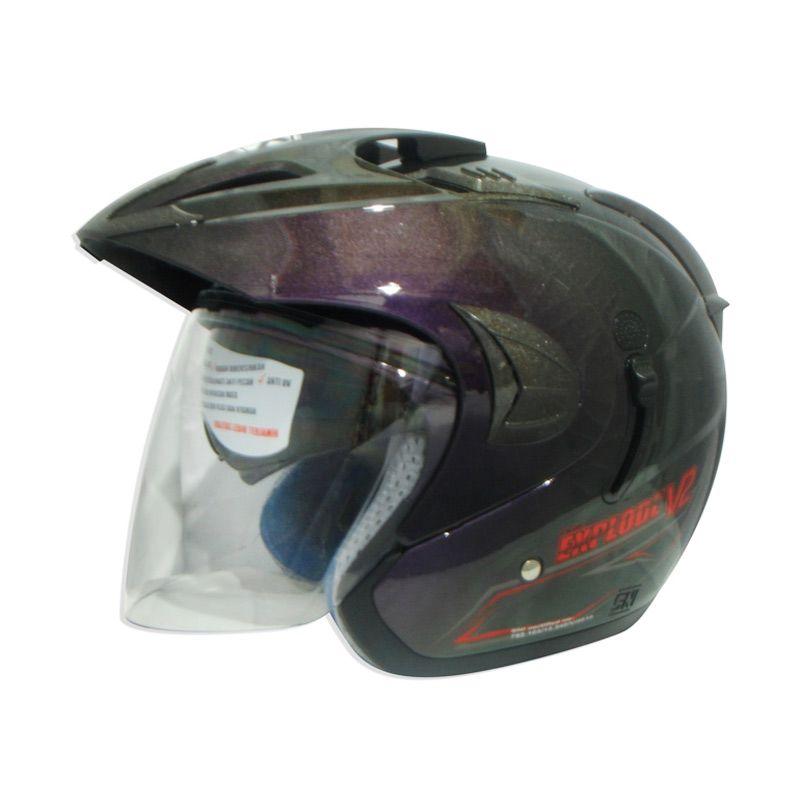 RDX Explode V2 Solid 3Tone Helm Half Face
