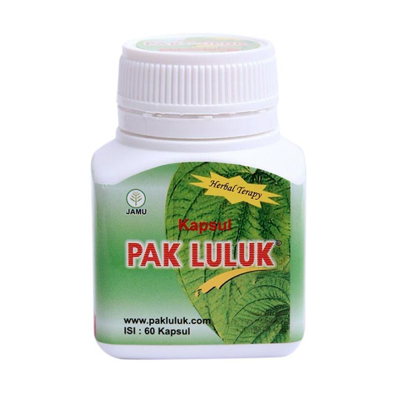Pak Luluk Therapy Obat Kesehatan [60 Kapsul]
