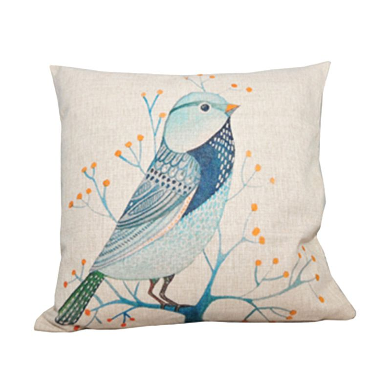 Hermosa Bird 529 Krem Bantal Sofa [45 x 45 cm]