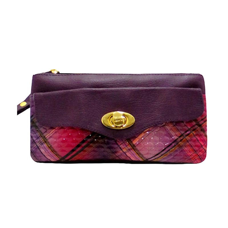 Hers Bella Walet Purple Dompet