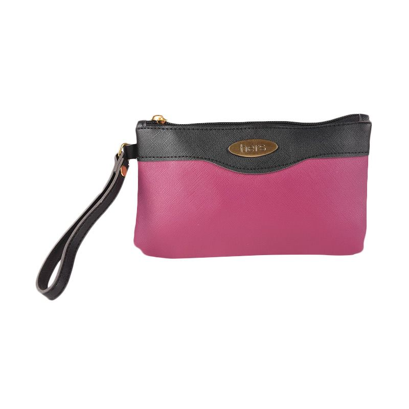 Hers Bags Kemira HER735 Ungu Clutch