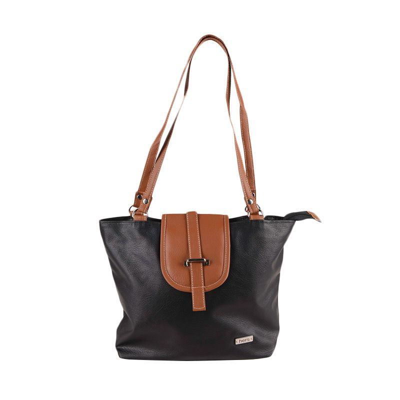 Hers Bags Simple With Cover Studs HER779 Tote Bag