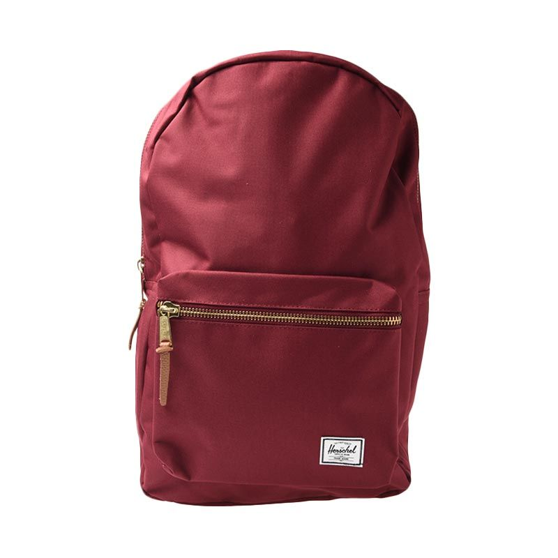 HERSCHEL 10005-00746-OS Settlement 600D Poly WDSR WINE Backpack