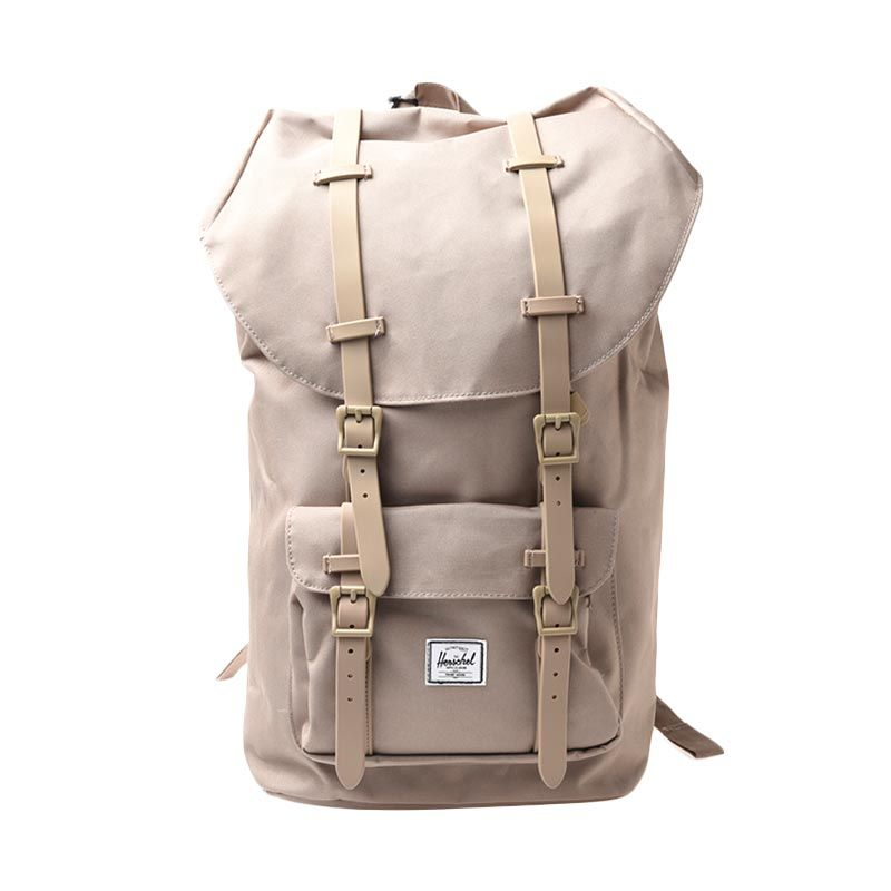 Herschel 10014-00768-OS Littel America Poly Rubbr Brindle Backpack