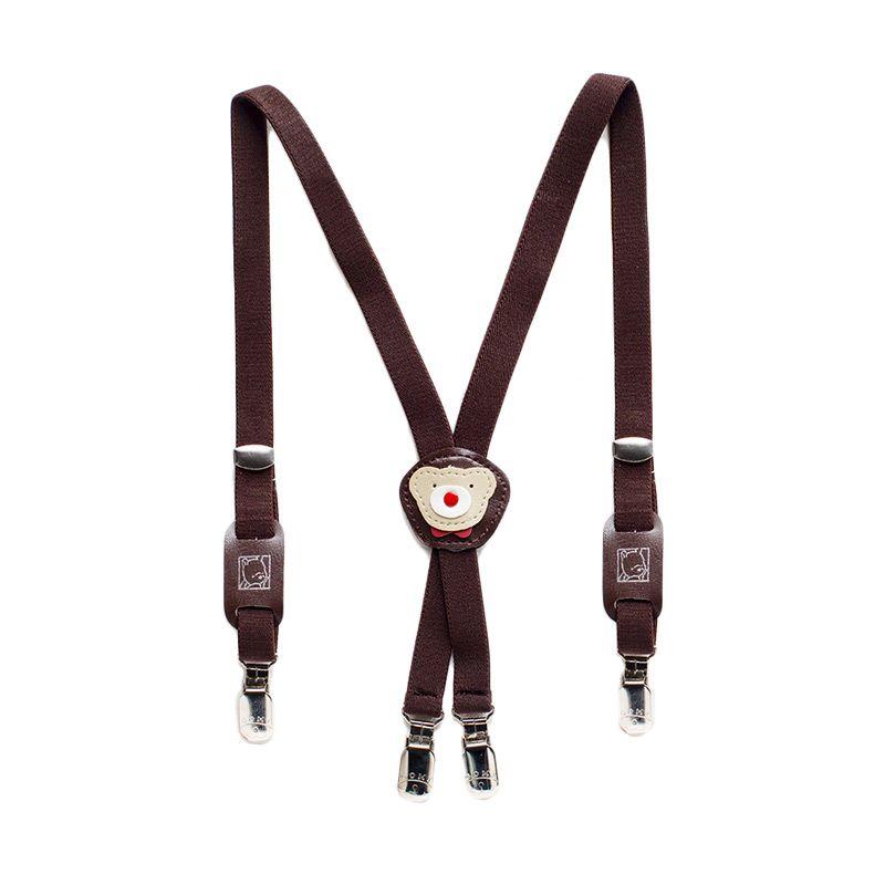 Heyboy Bear Coklat Suspender Anak