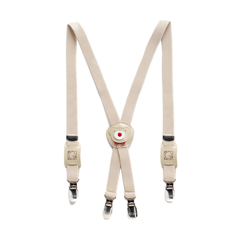 Heyboy Bear Cream Suspender Anak