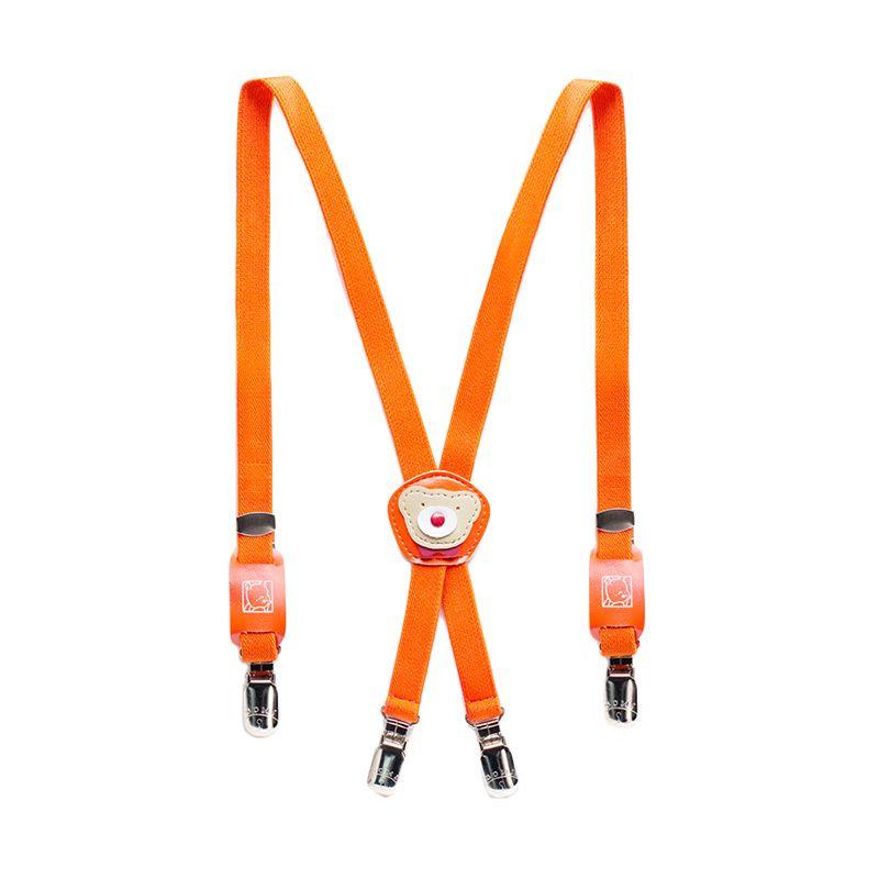 Heyboy Bear Orange Suspender Anak