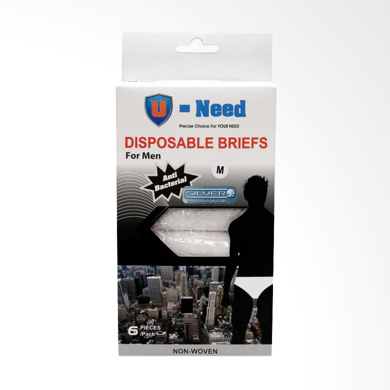 Uneed Disposable Briefs For Men