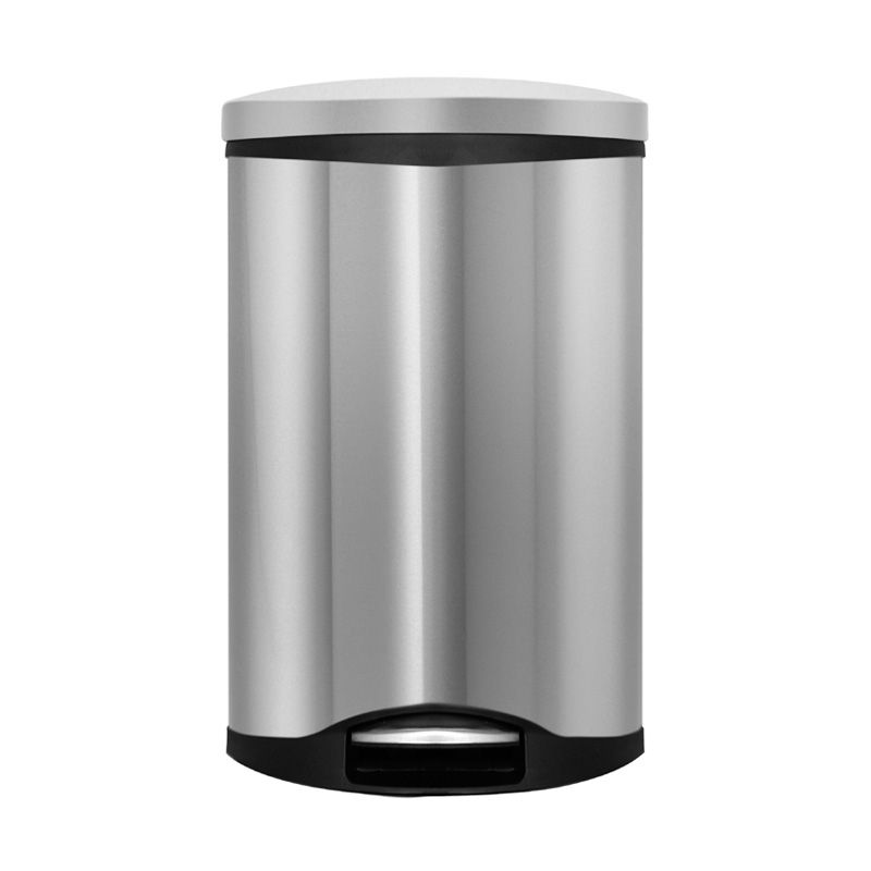 Nobi Trash Bin Stainless Steel 6L Satin Finish