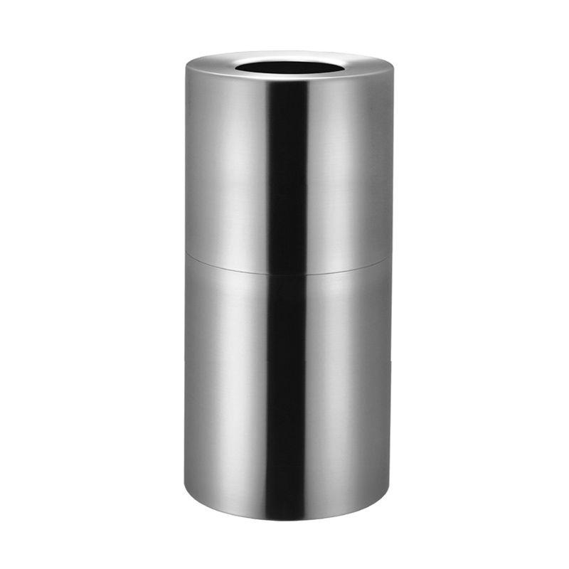 Nobi Waste Bin Alluminium 88L Round