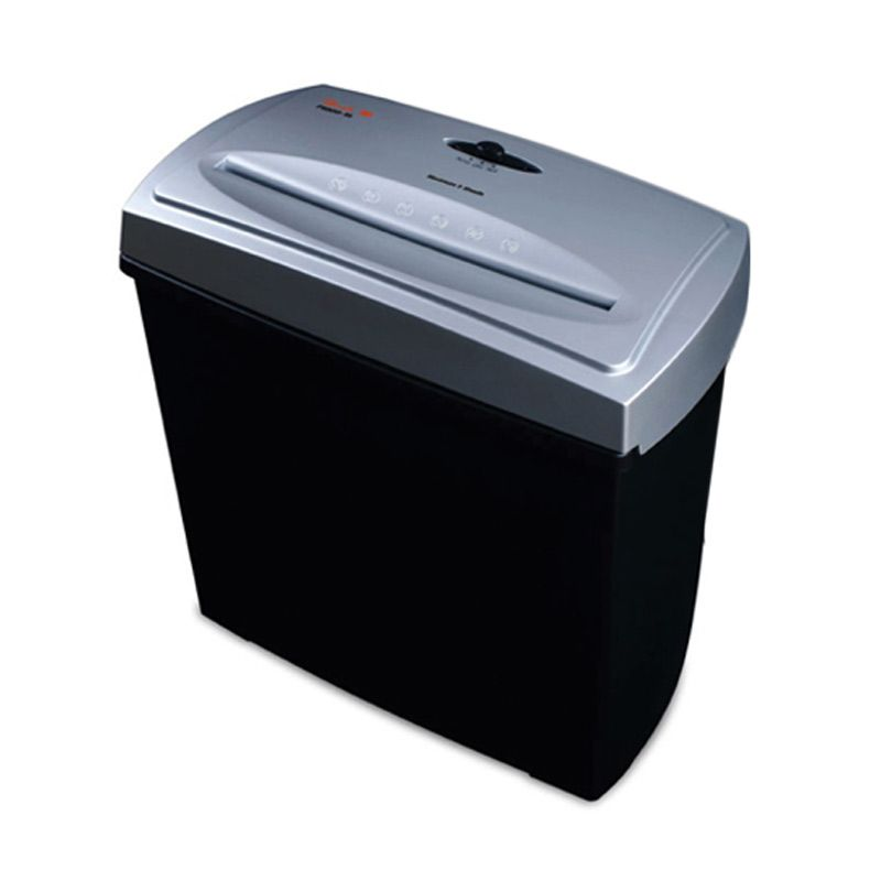 Peach Cross Cut Shredder, 5 Sheets, 11L Bin