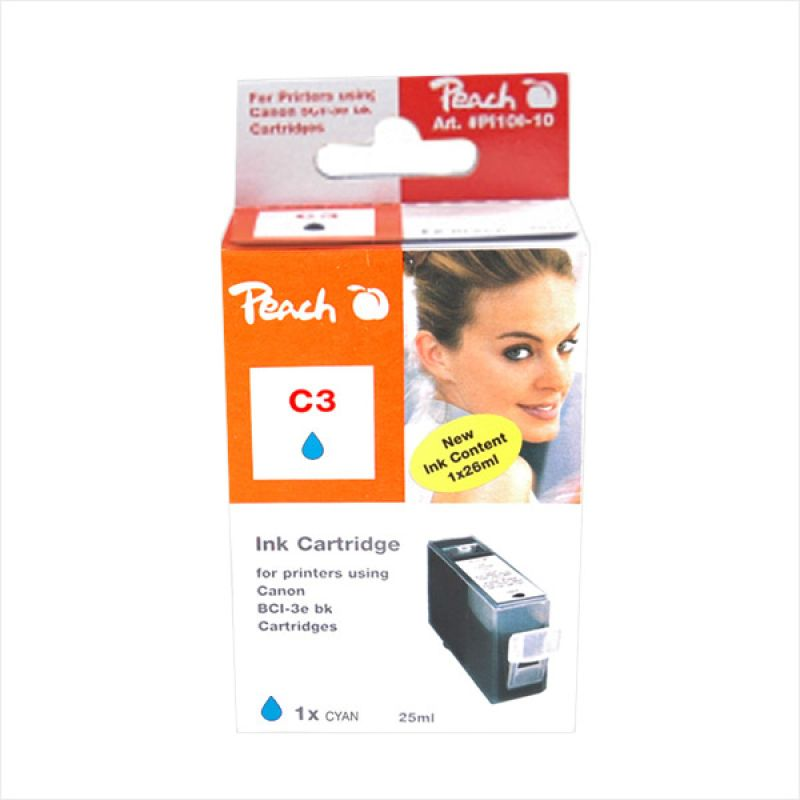 Peach Ink Compatible for BCI3EC