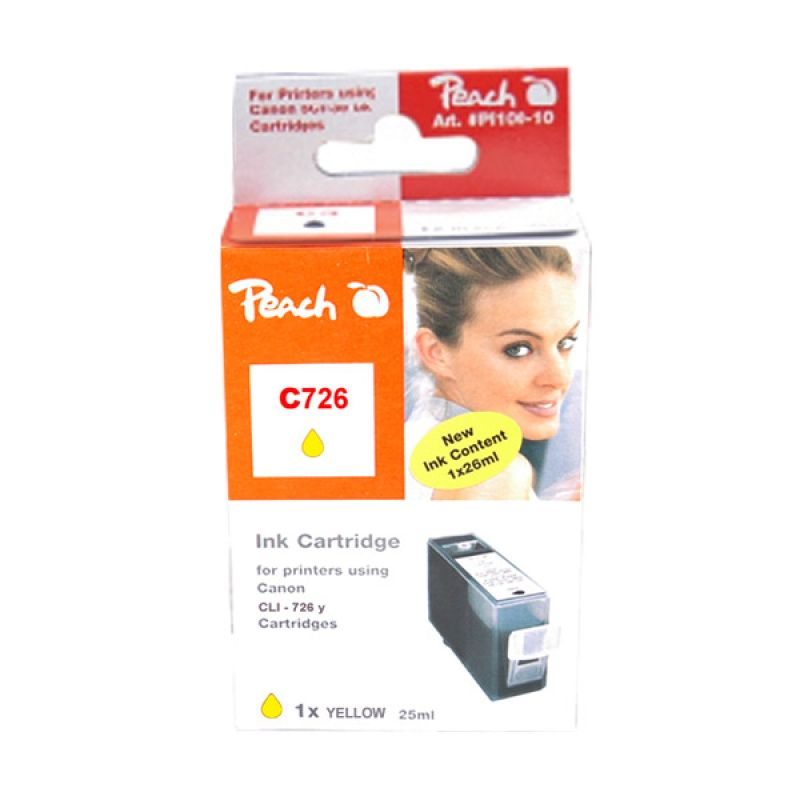 Peach Ink Competible for CLI726Y