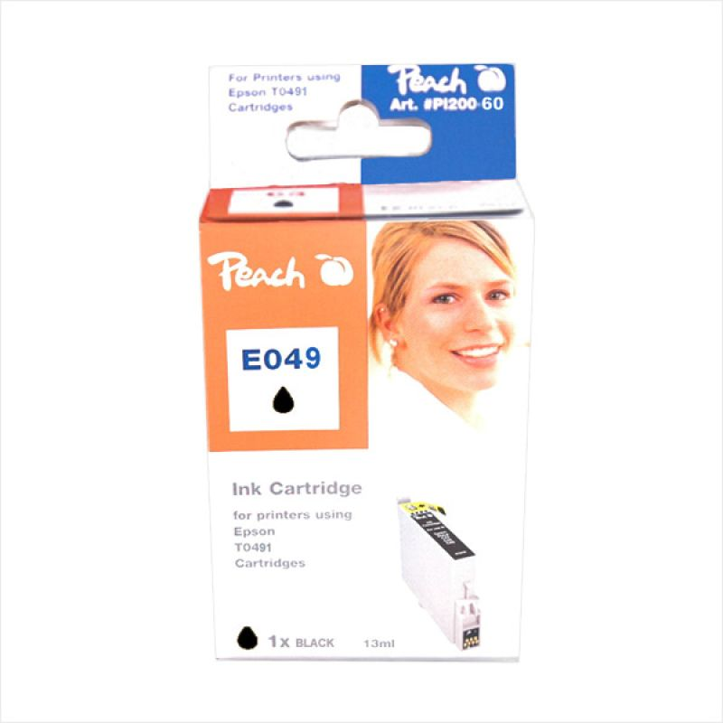 Peach Ink Competible for T0491 - Cartridge