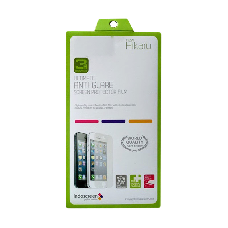 Hikaru Anti Glare Screen Protector for Oppo R1 R829T - Clear