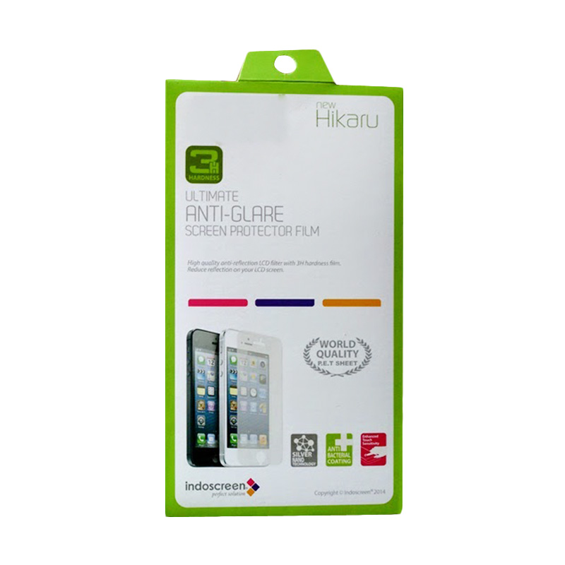 Hikaru Anti Gores Clear Screen Protector for BlackBerry 9380 Curve 3G