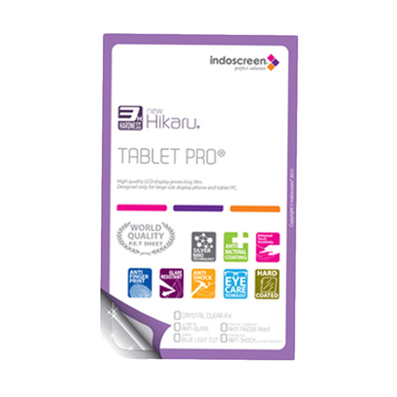 harga Hikaru Screen Protector for Advan Vandroid Tab T5 C - Clear [Anti Finger Print] Blibli.com