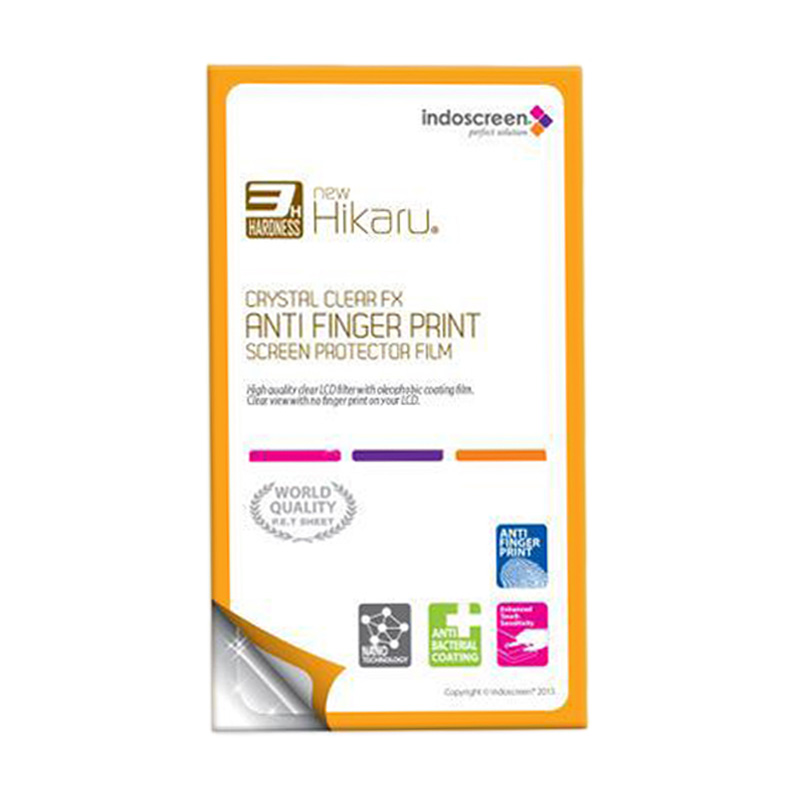 harga Hikaru Screen Protector for Samsung Galaxy Star New S5280 or S5282 - Clear [Anti Fingerprint] Blibli.com